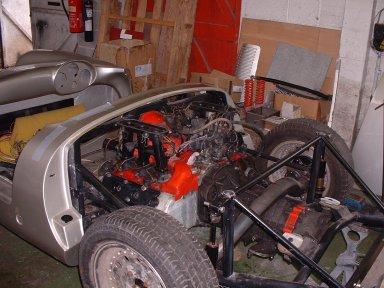 550 spyder gets porsche 6 cylinder power - Porsche Spyder Replica Kit