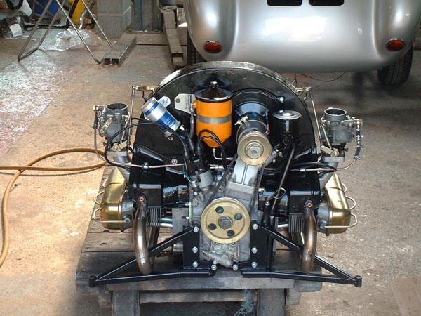 36 Rebuilt Porsche 356 Engine